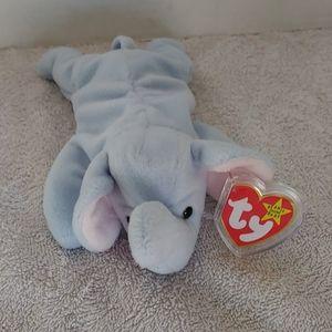 Ty beanie baby Peanut the elephant with tags